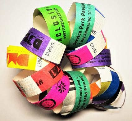 25mm Tyvek Wristband