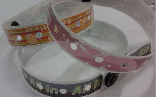 Full Color Narrow L wristband