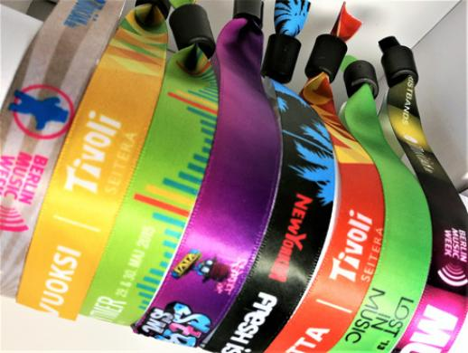 Satin Farbic Wristbands