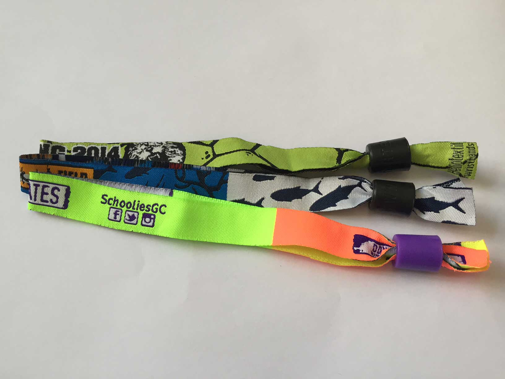 SLIDE LOCK 2.0 WRISTBANDS