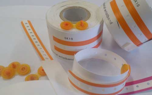 Thermal Hospital Wristbands