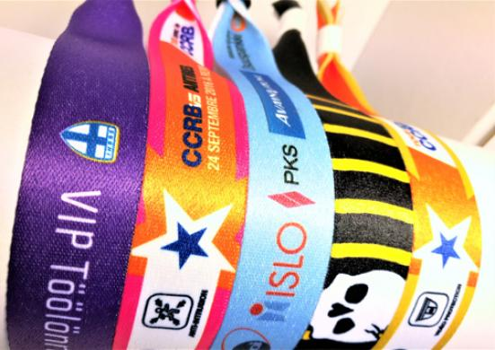 20mm Dye sublimation Fabric band