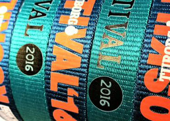 DyeSublimation printed Charity Wristbands copy