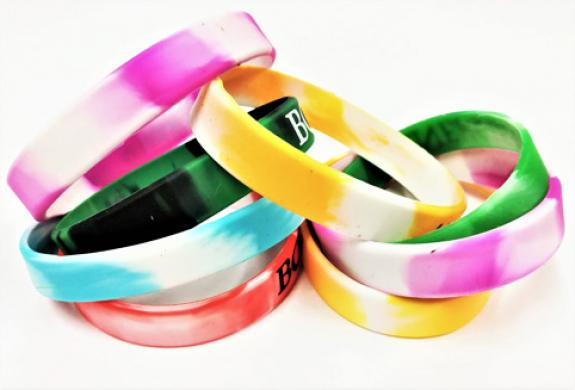 Marble Silicone Bands