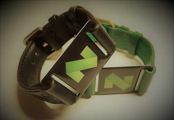 Custom Leather RFID Wristband